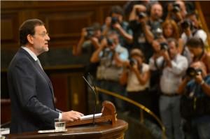 Mariano Rajoy informa al Ple del Congrés sobre les noves mesures