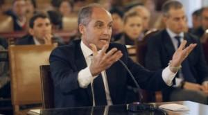 Francisco Camps durant el seu judici.