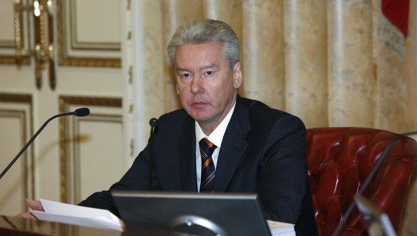 L'alcalde de Moscú, Sergéi Sobianin.