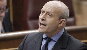 El ministre d'Educació, Cultura i Esports, José Ignacio Wert, en una sessió de control a l'Executiu.