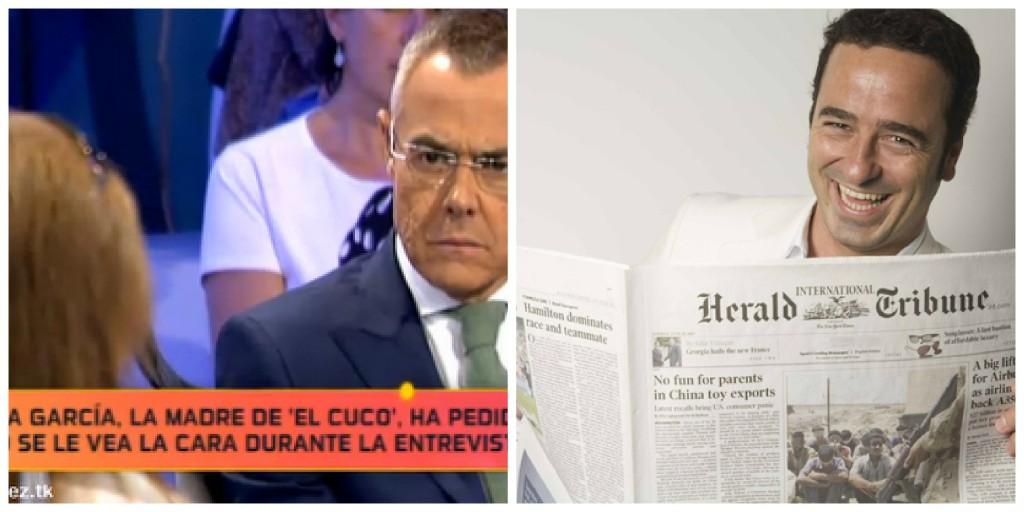 Imatge del programa La Noria i Pablo Herreros.