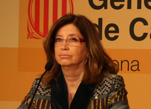 Irene Rigau, consellera d'Educació