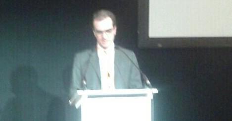 El ponent Massimo Audissio.