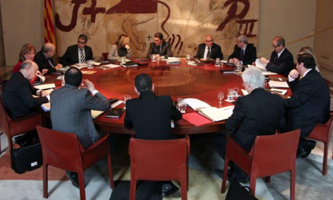 Imatge del govern de la Generalitat