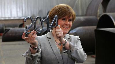 La Viceprimer Ministre d'Escòcia, Nicola Sturgeon, és la responsable de la campanya a favor del sí a la independència.