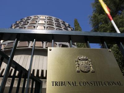 Seu del Tribunal Constitucional a Madrid.