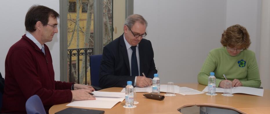 D'esquerra a dreta: Santiago Cavanillas, Martín Aleñar i Margalida Riutort. Font: Col·legi d'Advocats de les Illes Balears.