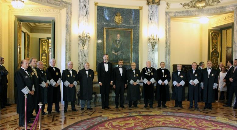 Inauguració any judicial. Font: Consell General del Poder Judicial