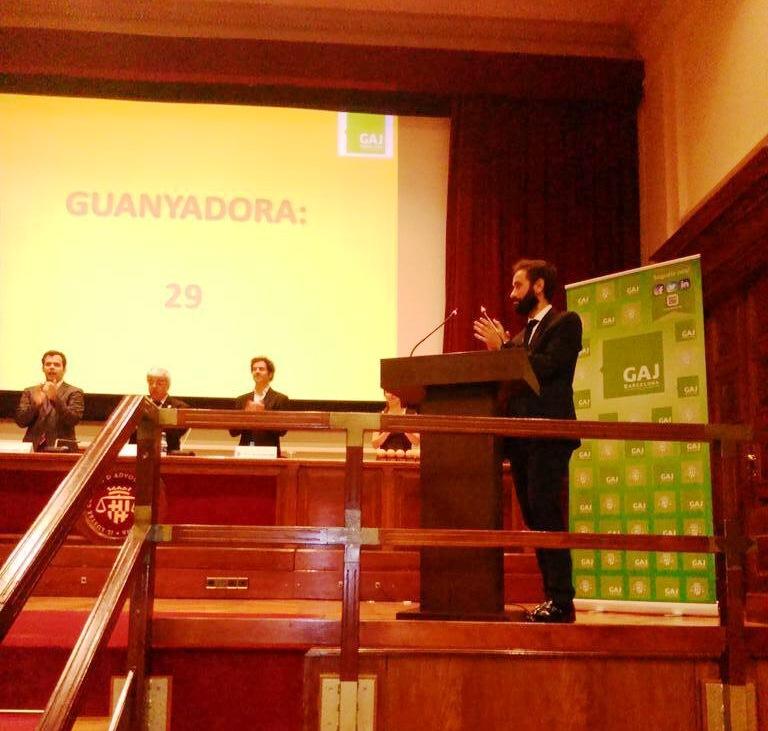 Premis Taronja i Llimona organitzats pel GAJ Barcelona