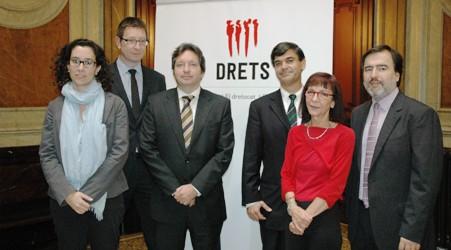 Membres del Grup Promotor de Drets