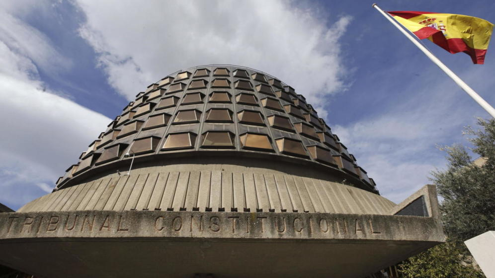 Imatge del Tribunal Constitucional - EFE