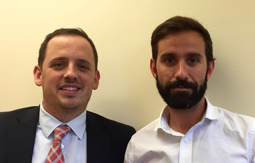 Juan Irala y Pol Olivet.