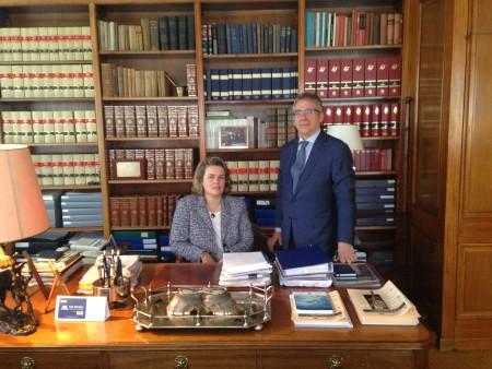 Ana Morera i Frederic Borràs