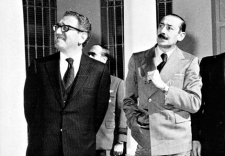 Henry Kissinger amb Jorge Rafael Videla