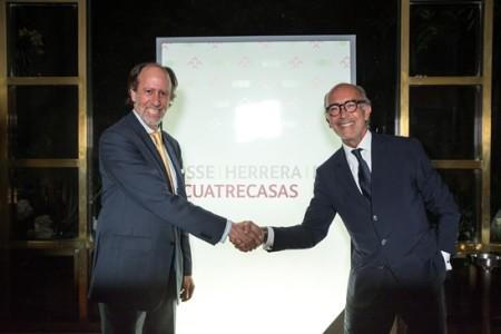 Jaime Herrera, soci fundador de PHR i Rafael Fontana, President Executiu de Cuatrecasas.