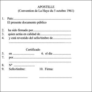Exemple de postil·la (Font: http://www.traduccion-jurada-oficial.com/blog/wp-content/uploads/2010/10/apostilla-haya-espanol.png)