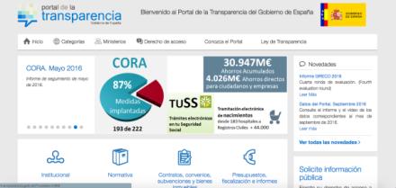web transparencia egovernment