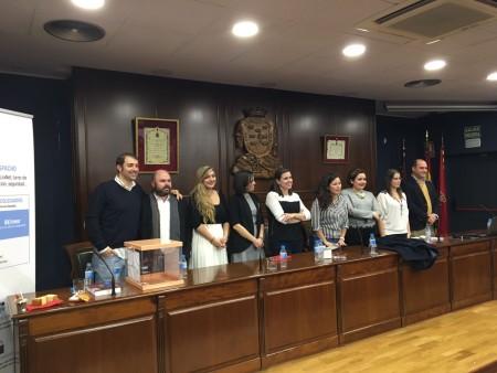Fotografia dels membres de la nova Comissió Executiva de CEAJ.