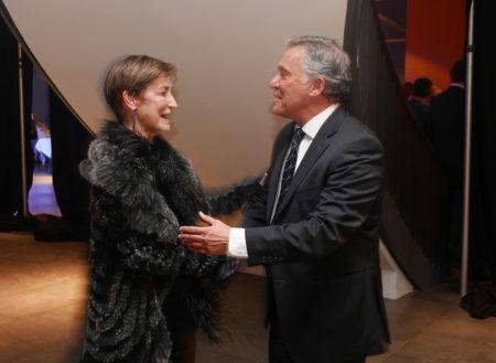 Victoria Ortega, presidenta del CGAE, i José Félix Alonso-Cuevillas, president d'Alter Mútua.