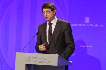El conseller de Justicia Carles Mundó.