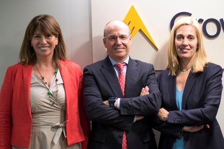 María Jesús Parra, Javier Llorente i Gloria Reig
